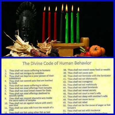 Kwanzaa Meets Traditional Spirituality: Reclaiming the Ancestral Culture